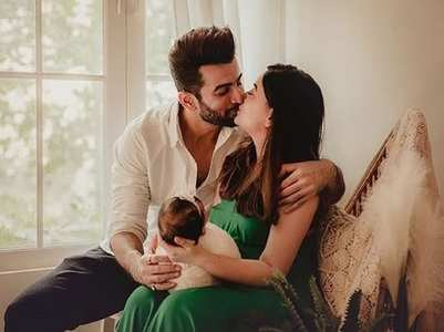 Jay-Mahhi give a glimpse of their baby's shoot