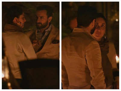Kareena-Saif get romatic in Ranthambore
