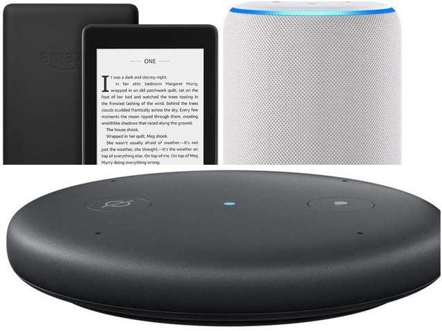 Amazon Kindle, Amazon Echo Show, Echo Input and other Alexa-enabled devices available at up to 71% off