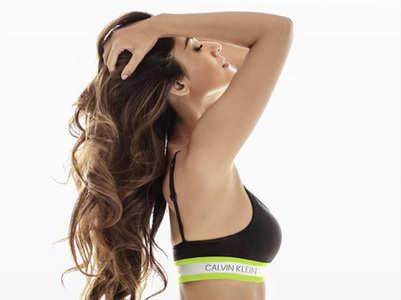 Disha poses in a jaw-dropping black bikini