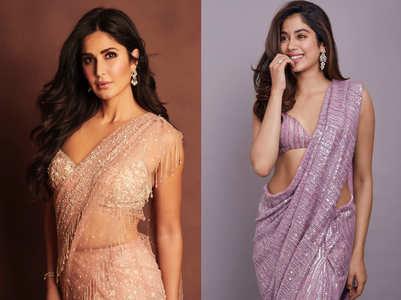 From Alia Bhatt to Katrina Kaif: Bollywood stars in shimmery saris