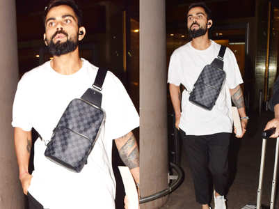 Guess the price of Virat Kohli's LUXURY sling bag