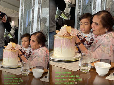 Salma Khan celebrates her b'day with family