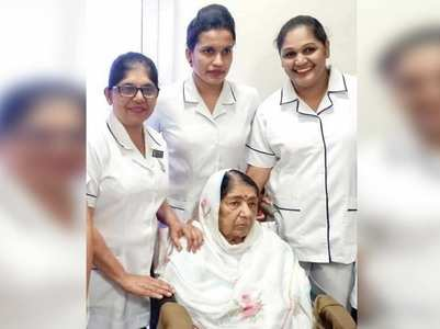 Lata Didi's photos from her recovery go viral