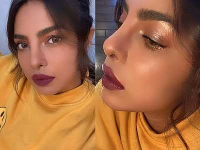 PeeCee shares glamorous selfies from the sets