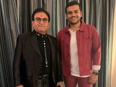 Taarak's Bhavya Gandhi meets Dilip Joshi