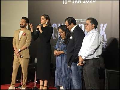 DP breaks down in tears at trailer launch