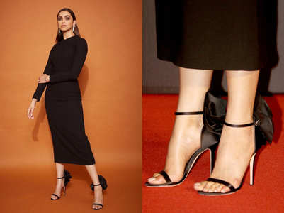 We bet you can't guess the PRICE of Deepika Padukone's SEXY black heels
