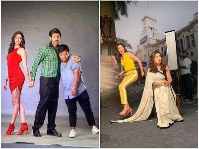 Ananya shares goofy pics with Kartik & Bhumi