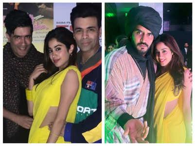 Photos: Janhvi slays it in her 'Chandni' look