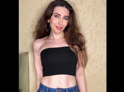 #WednesdayWisdom: Karisma flaunts her abs