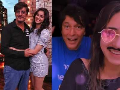 Ananya goes goofy in 'PPAW' style with dad