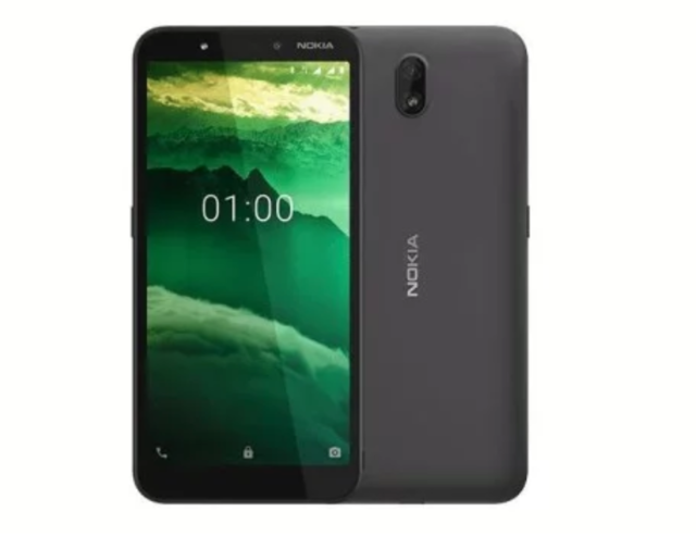 Nokia C1 Android 9 Go Edition smartphone launched