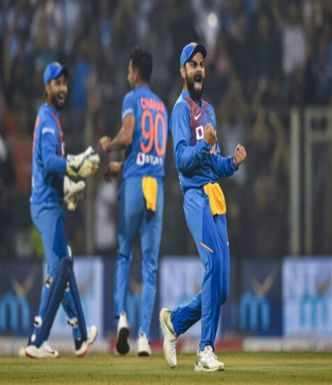 Kohli's anniversary gift at Wankhede as India wins T20 series vs WI