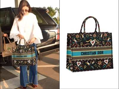 Price of Anushka's tote bag will shock you
