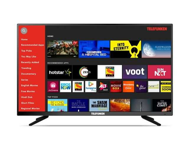 Telefunken launches TFK40S full HD Smart TV at Rs 16,999
