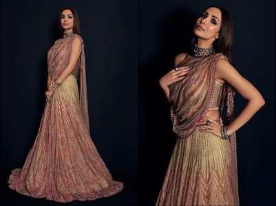 Malaika looks regal in THIS sequin lehenga