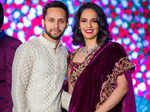 Sai Praneeth's wedding reception pictures
