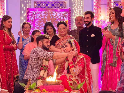 Raman, Ishita's  're-shaadi' sequence in YHM