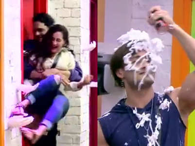 BB13: Vikas locks Rashami in the bathroom