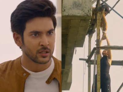 Shivin gets injured for real in Beyhadh 2