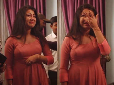 Yeh Hai Mohabbatein's Ruhi cries inconsolably