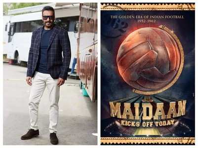 Ajay wraps up Kolkata schedule of 'Maidaan'
