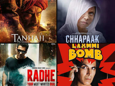Bollywood films set to clash in 2020