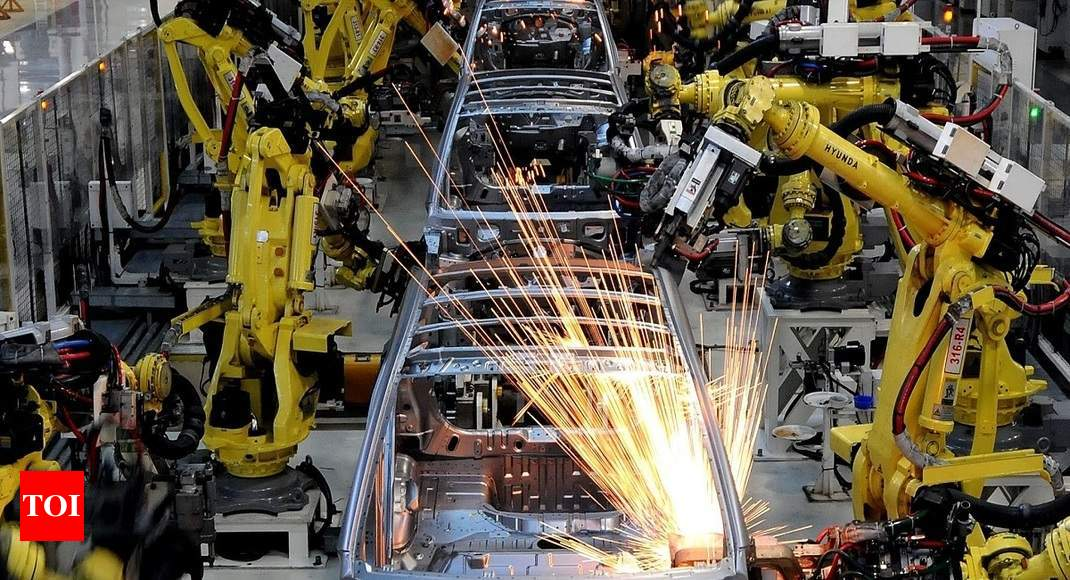 Industrial output contracts for 3rd month in a row
