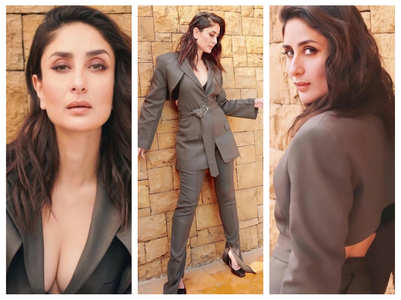 Photos: Bebo stuns in her backless blazer