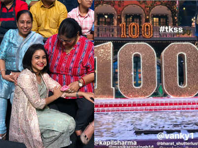 TKSS is 100: Sumona, Kapil's moms enjoy