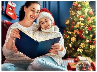 Xmas is all about reading books