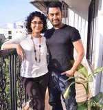 Aamir-Kiran get candid