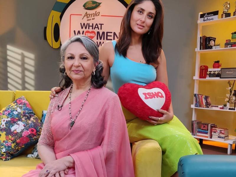 Kareena Kapoor Khan and Sharmila Tagore (Image: Instagram)