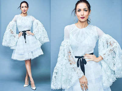 Pic: Malaika oozes elegance in a white dress