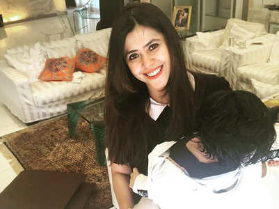 ​Ekta's son Ravie's first foreign trip