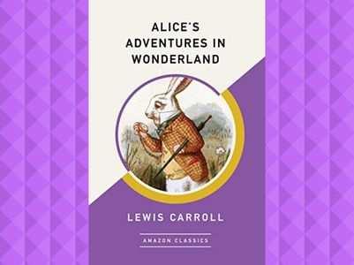 Original 'Alice in Wonderland' book set for display