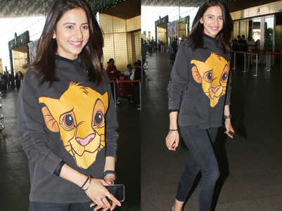 We love Rakul Preet Singh's Simba sweatshirt! Also, can you guess its price?