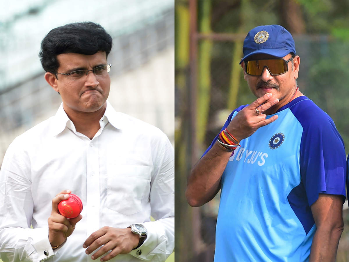 Ravi Shastri: Have a lot of respect for Sourav Ganguly and to hell with  those who don't understand   Cricket News - Times of India