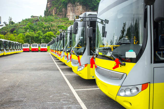 UP electric buses can be tracked on Google map