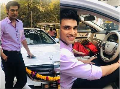 ​Parth is a proud owner of Mercedes Benz
