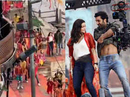 Watch: Video of Ranbir Kapoor and Alia Bhatt's dance sequence in 'Brahmastra' surfaces online