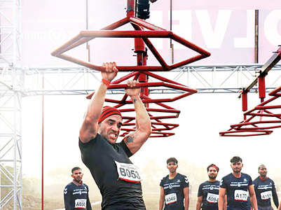Kushal Punjabi completes race with an injury