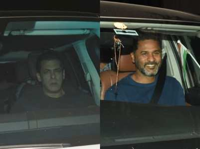 'Dabangg 3': Salman and others attend screening