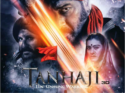 'Tanhaji' 2nd trailer to be out today