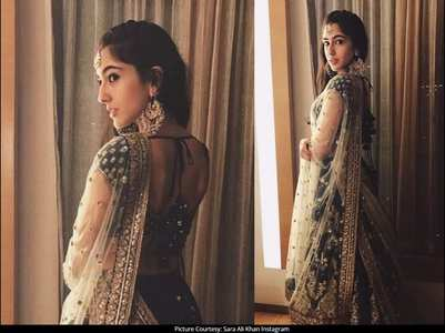 Sara looks regal in THIS traditional attire!