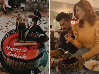 Kishwer-Suyyash celebrate third anniversary