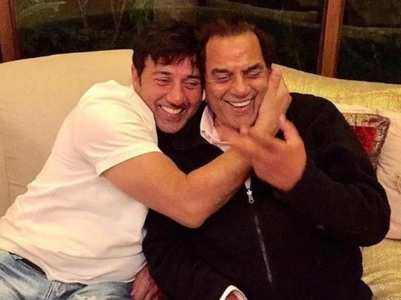 Dharmendra-Sunny give out father-son goals