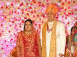 Tanya and Vivek's wedding ceremony