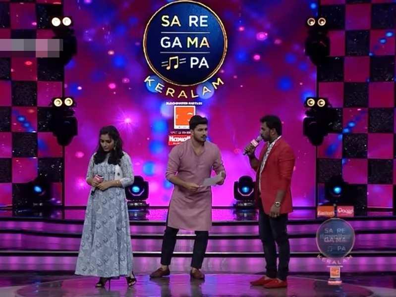 Sa Re Ga Ma Pa Keralam: Actress Rajisha Vijayan and mentor Siju recreate the iconic romantic scene of Mammooty and Bhanupriya